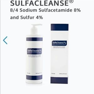 SulfaCleanse 8/4 Acne Foaming Face Cleanser - 16oz